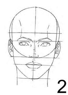 how to draw a human face - online-drawinglessons (2)