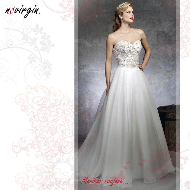Monikos vestuvinė suknelė / Wedding dress for Monika