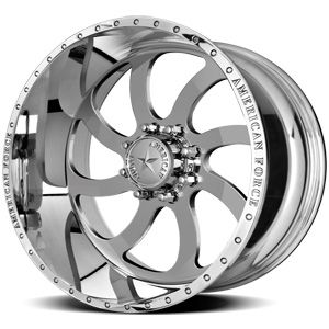 American Force Blade SS8 Polished Custom Truck Wheels & Rims