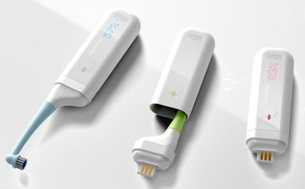 In & Out Toothbrush Sterilizer by Jaewan Jeong, Ahn Joonggeun and Hwang Sunghyun