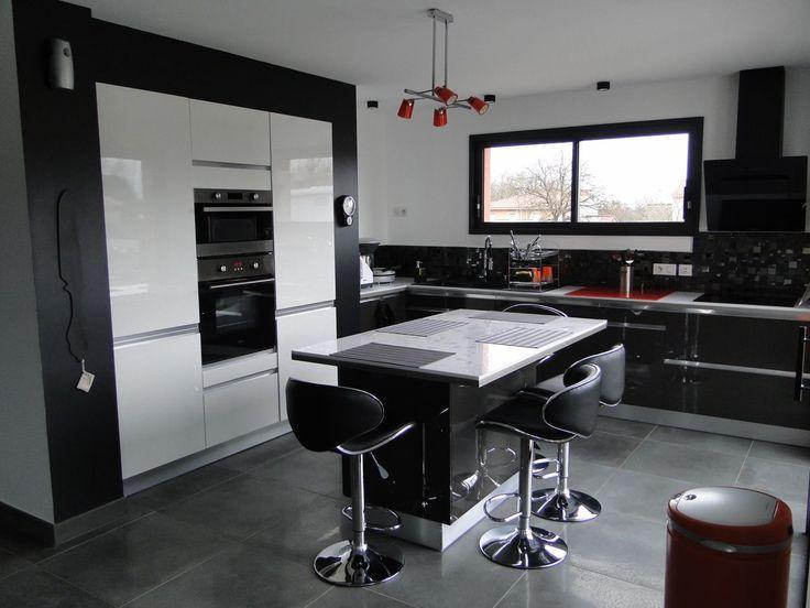 11 best aménagement cuisine images on Pinterest Cooking food - construire un bar de cuisine