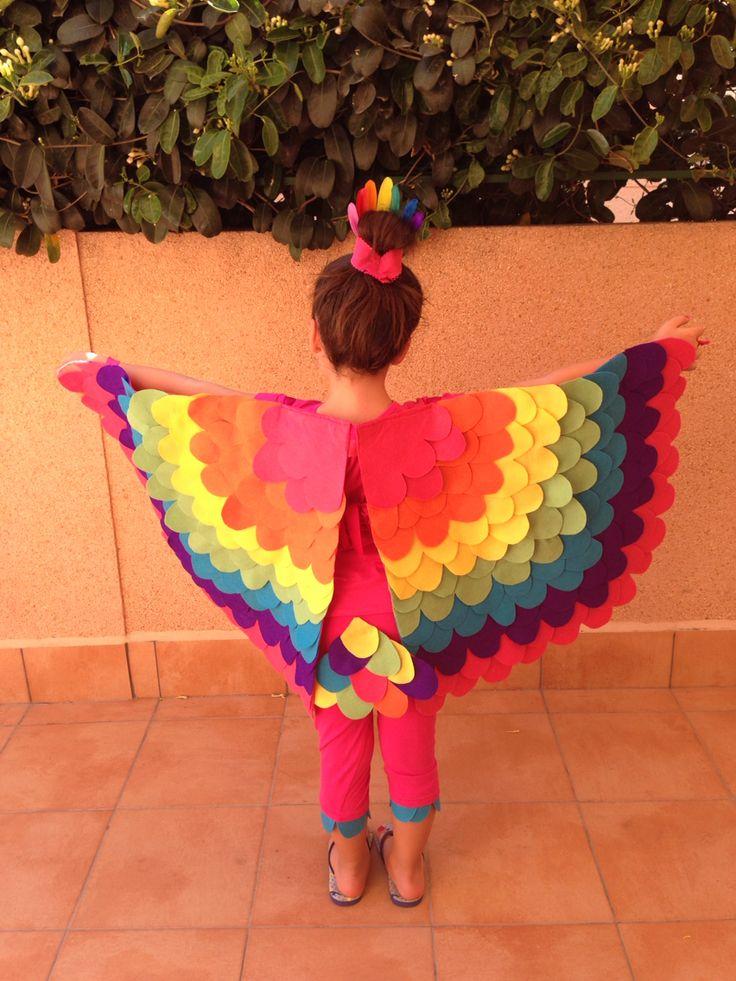 M s de 25 ideas fant sticas sobre disfraces de pajaros en - Fotos originales para hacer en casa ...