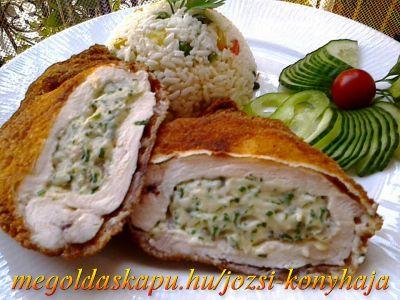 2.) Zöldfűszeres, krémsajtos csirkemell http://megoldaskapu.hu/csirkemell-receptek/zoldfuszeres-kremsajtos-csirkemell Zöldfűszeres, krémsajtos csirkemell | CSIRKEMELL Receptek | Megoldáskapu
