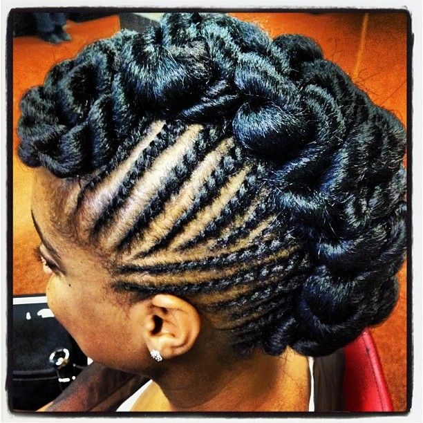 Images Of Flat Twist Mohawk Hairstyles Spacehero