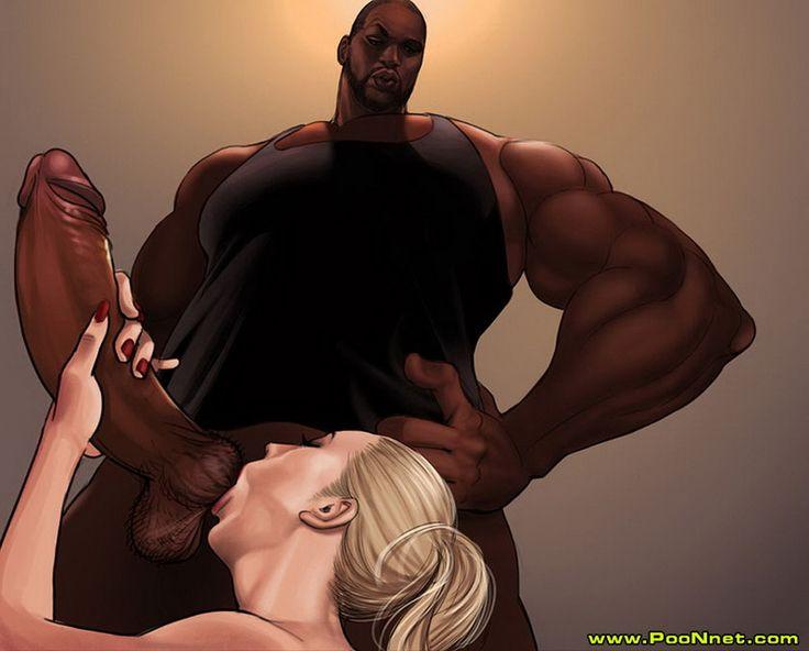 Cartoon Animated Black - Big black cock is so fucking tasty interracial cartoons from poonnet