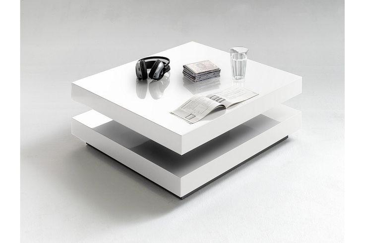 Köp HUGO Soffbord - Vit High-gloss på Trademax.se! ✔ 400.000 nöjda kunder ✔ Alltid fri frakt & öppet köp ✔ Höstkampanj - Välkommen till Trademax.se!