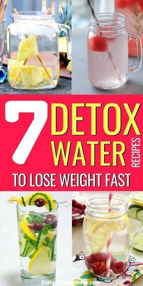 Detox Water To Lose Weight. Try these fat burning detox water recipes to lose we…