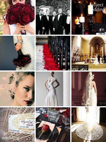 spanish wedding collage