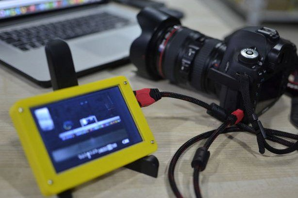 5 Inch HDMI Plug and Play Camera Monitor