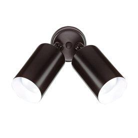 Nicor Lighting Black motion sensor light for back stairwell