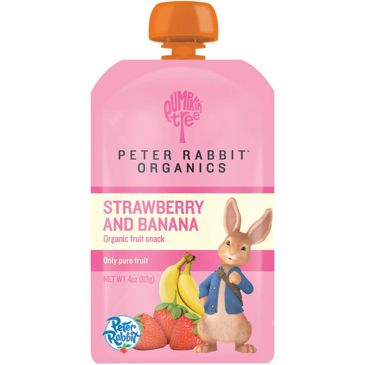 Free 2-day shipping on qualified orders over $35. Buy Peter Rabbit Organics Strawberry and Banana, 100% Pure Fruit Snack Baby Food, 4 oz, 10 count at Walmart.com