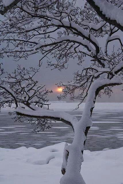 Winter sunset :-)