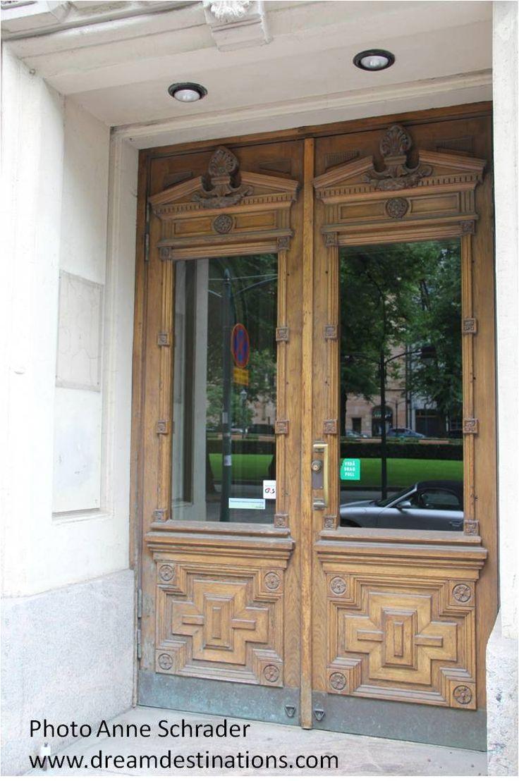 Door in Helsinki Finland 2014