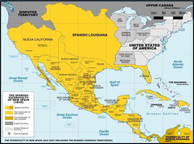 Virreinato de Nueva España - Wikipedia, la enciclopedia libre