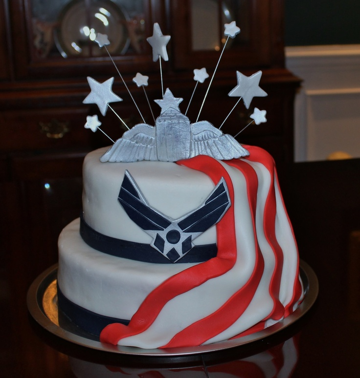 Air Force Wedding Ideas: 11 Best Air Force Cake Images On Pinterest