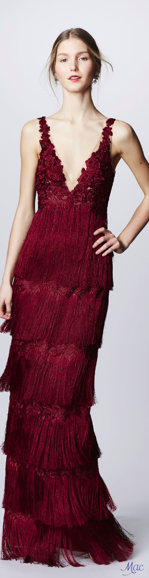 Fall 2016 Ready-to-Wear Marchesa Notte