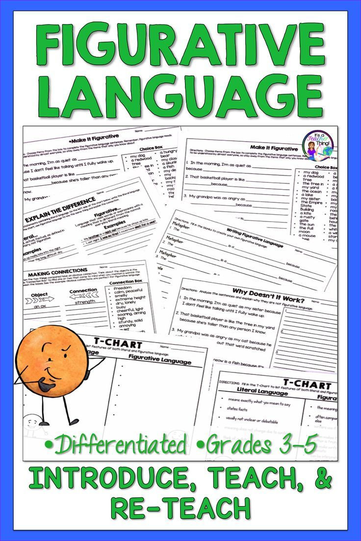 This Is An 18 Question Worksheet That Focuses On Personification Students Are Required To Identify Wha Figurative Language Similes And Metaphors Writing Units