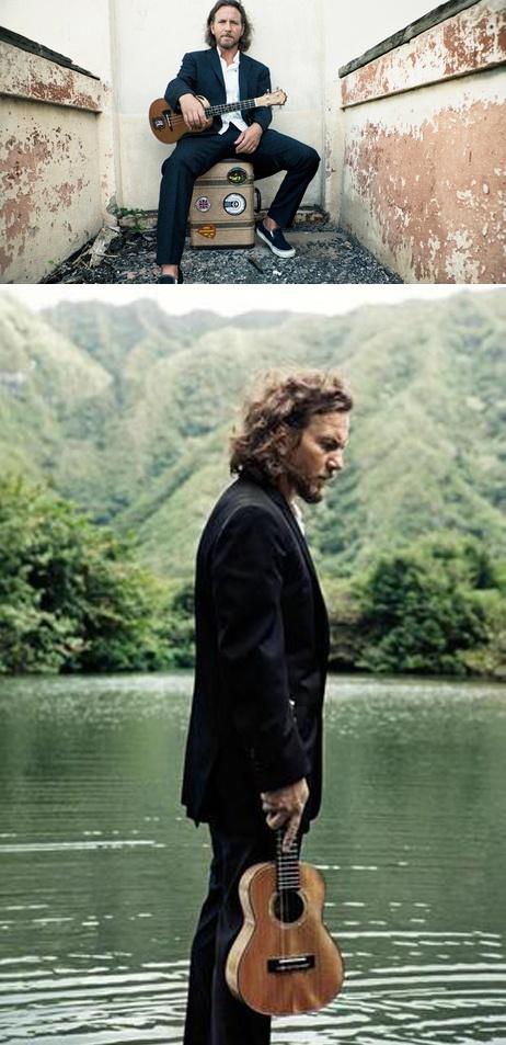 Who's unbelievably cool? Eddie Vedder. Coolest instrument? Ukulele. We still keep 'Ukulele Songs' on rotation on a regular basis.