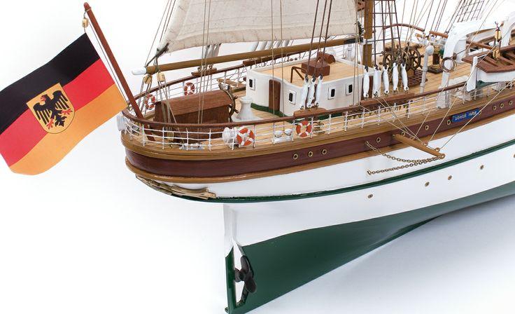 GORCH FOCK. Maquetas de barcos. DIY.