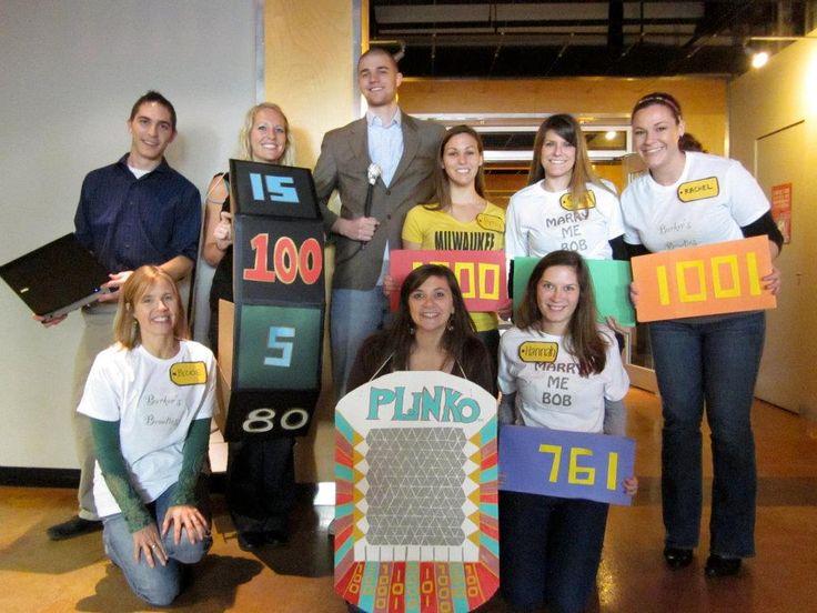 price is right group #costume #plinko #wheel