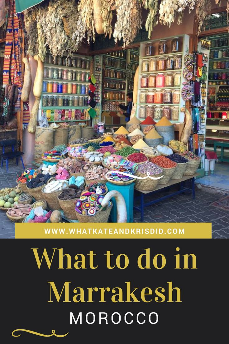 What to do in #Marrakesh #Morocco