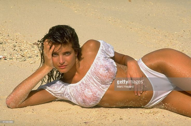 News Photo : Model Stephanie Seymour is photographed for the...