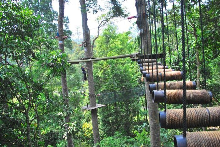 Skytrex Adventure, Shah Alam, Selangor – Jungle Trekking Via the Canopy…