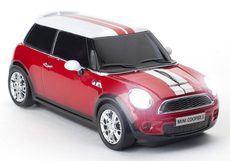 Mini Cooper S Chili Red Wireless Mouse