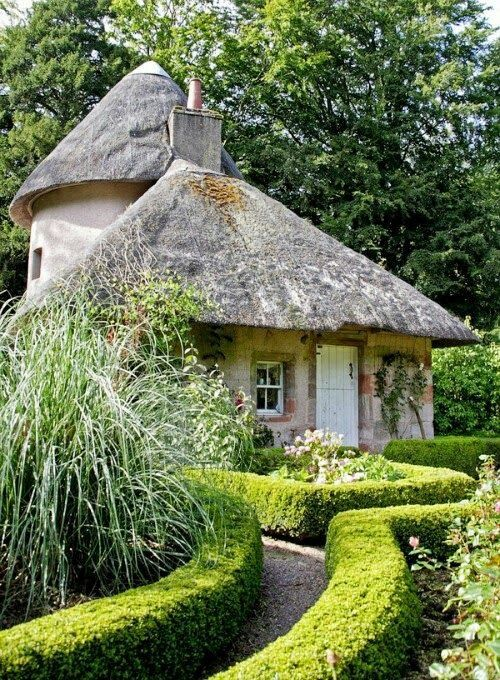 A charming little faery cottage, but I would like a wilder looking garden.