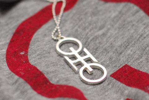 Ohio Link Necklace | STATE OF DEVOTION CLOTHING Co.