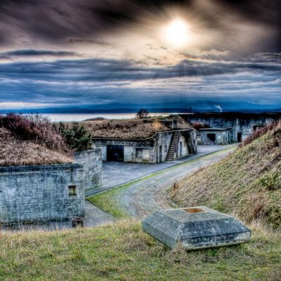 Fort Casey, Whidbey Island, Washington went camping here (at the camp grounds) yearly growing up. I miss it so much!