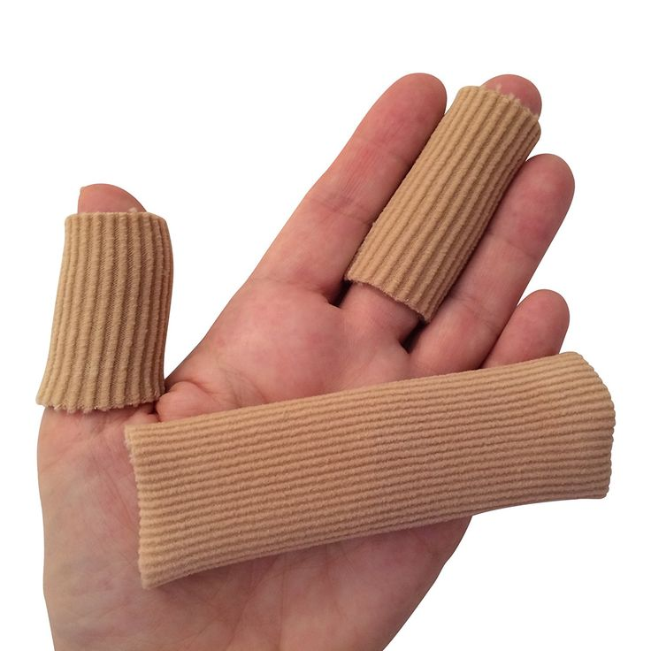 DenadaDance Hammer Toe Finger Cushion - 2 Silicone Wide and Narrow Tubes/Sleeves for Instant Pain Relief - Use as Protectors for Sore Toes and Fingers, Callus, Corn, Blisters >>> New and awesome product awaits you, Read it now  : Christmas Gifts