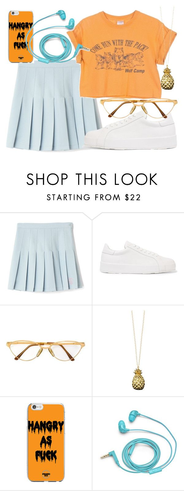 """""""Untitled #507"""" by rocksolana ❤ liked on Polyvore featuring Jil Sander, Persol, Catherine Zoraida and FOSSIL"""