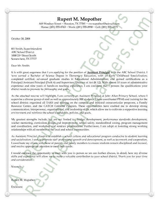 The 25+ best Cover letter teacher ideas on Pinterest Teaching - software developer cover letter