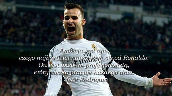 Jese Rodriguez Ambicja jest tym cytaty piłkarskie #quotes #cytaty #football #soccer #sports #pilkanozna