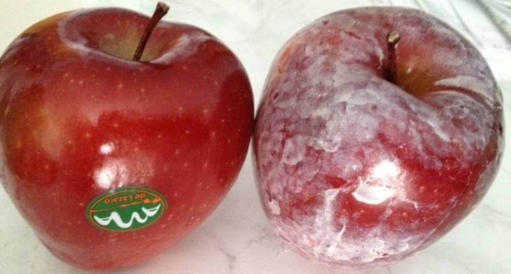 S tímto testem zjistíte, jestli jsou vaše jablka pokryta rakovinotvorným voskem