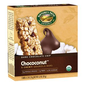 Chococonut™ Granola Bars | Nature's Path  (*has small amount of molasses at end of ingredient list, but should be tolerated by most)