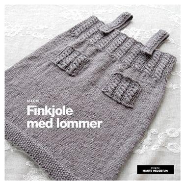 Finkjole med lommer - Oppskrifter - Nettbutikk - Design by Marte Helgetun