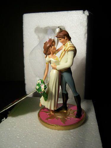New Disney Store 2012 Tangled Rapunzel Flynn Ryder Wedding Sketchbook Ornament | eBay