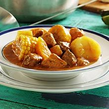 Sancocho - Meat and Vegetable Stew  A Favorite Tropical Pork Stew