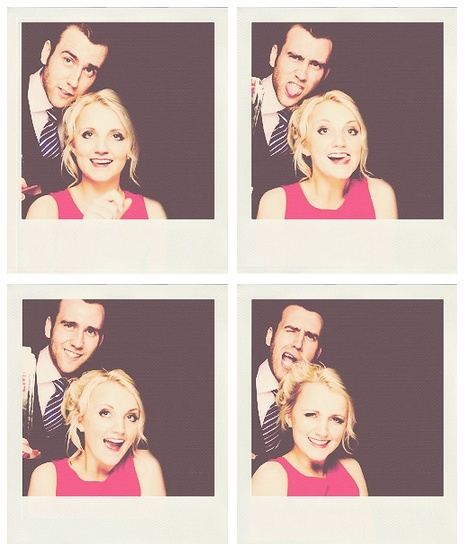 Neville Longbottom (Matthew Lewis) and Luna Lovegood (Evanna Lynch).
