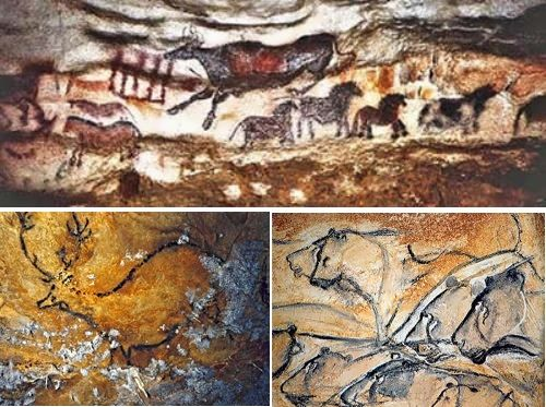 Захватывающая доисторическая наскальная живопись