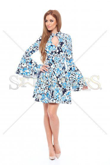 Artista Spring Look Blue Dress