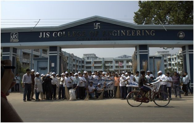 JIS College of Engineering conducted a rally to commemorate the birth anniversary of Sardar Patel on Rashtriya Ekta Diwas, i.e 31st October, 2014.
