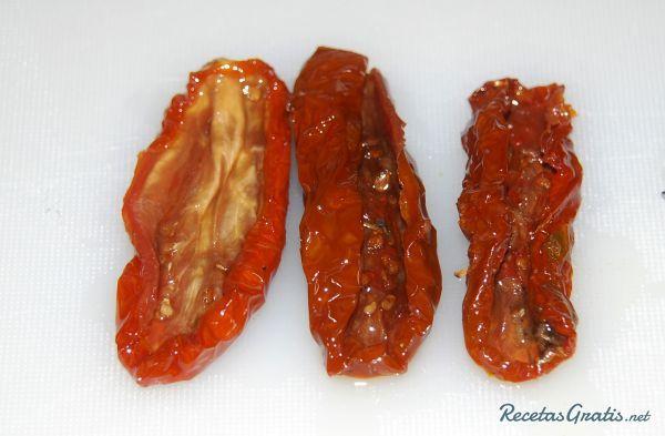 Receta de Vinagreta de tomates secos - Fácil