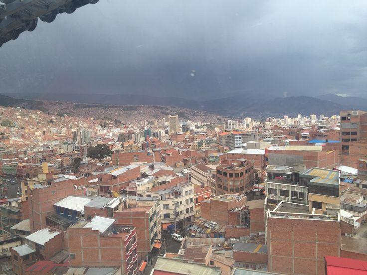 Teleferico, La Paz - Bolivia. Vernao 2016
