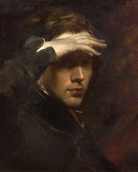 George Richmond: Self Portrait   http://annabregmanportraits.co.uk/unusual-self-portraits/