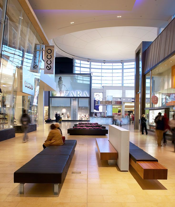 Yorkdale Shopping Centre in Toronto, ON - designed by GH+A, in collaboration with MMC International Architects