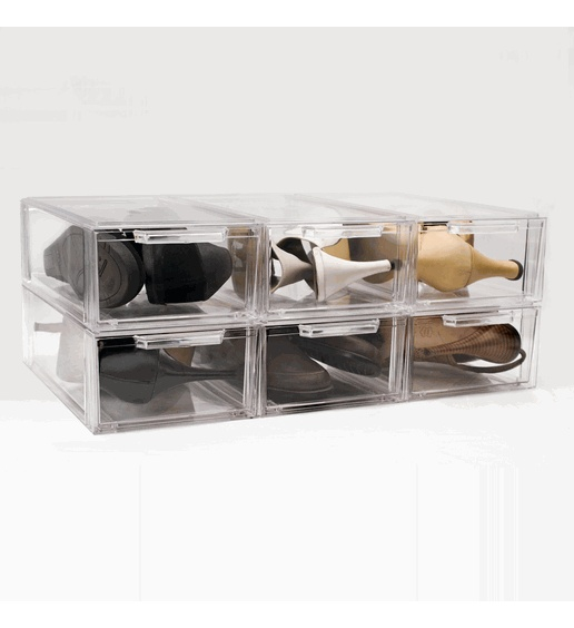 A must have for storing your favorite and delicate shoes!: Crystals, Clear Stackable, Clear Boxes, Small Aberdeen, Storage Drawers, Stackable Storage, Drawer Small