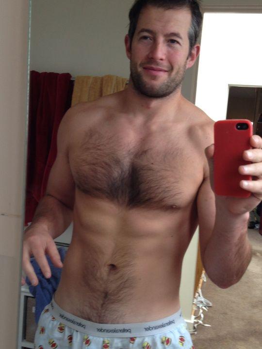 selfie man Hairy naked